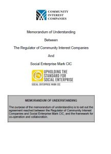 Memorandum of Understanding with CIC Regulator