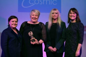 Julie Cosmic award pic