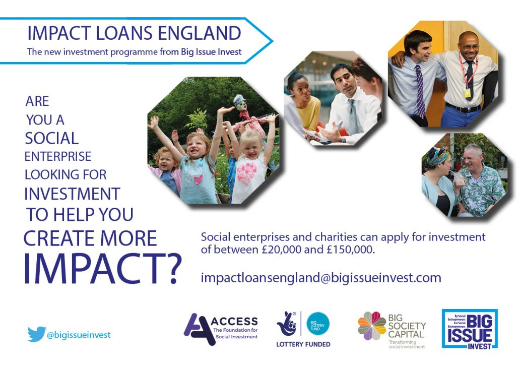 Impact Loans England GRAPHIC