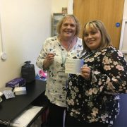 IC24's Clinical Lead Debbie Pullinger (left) and Nurse Prescriber Sarah Birch (right)