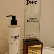 The Soap Co. win PwC Award