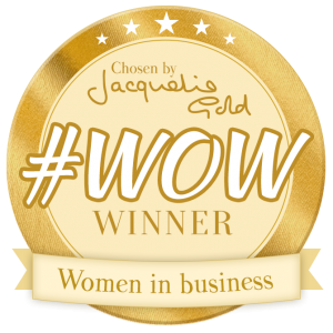 WOW women in business badge