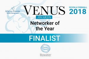 Venus Awards 2018 finalist badge