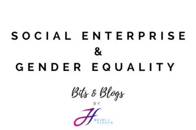 Social enterprise and gender equality - Social Enterprise Mark