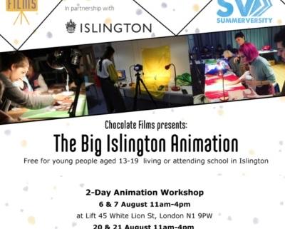 Chocolate Films animation workshops