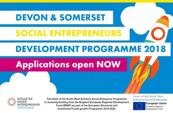 School for Social Entrepreneurs Devon and Somerset courses