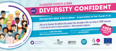 Diversity Confident event Plymouth 12th October 2018