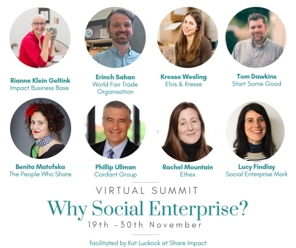 Why Social Enterprise Virtual Summit 2018