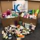Sanitary items donation