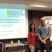 Lucy Findlay and Martin Davies_SEDEM workshop at BASE conference 2018