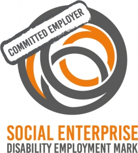 Social Enterprise Disabiity Employment Mark committed status