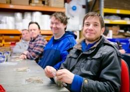 Watford Workshop employees