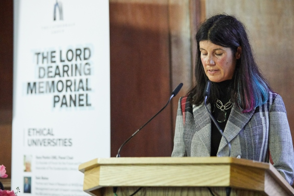 Lucy Findlay speaking at Lord Dearing Memorial Panel May 2019
