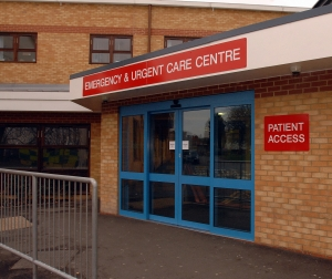 Emergency Urgent Care Centre (EUCC) at the King George Hospital in Ilford