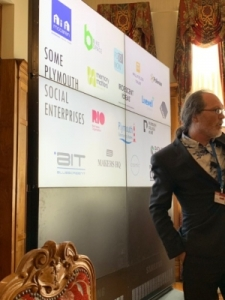 Gareth Hart presenting at UIMP social enterprise conference in Santander_July 2019