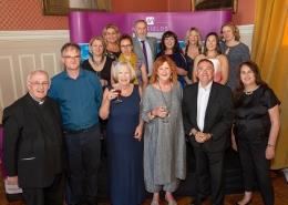 Millfields Trust team celebrating their 20th anniversary