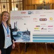 Rachel Fell at UIMP social enterprise conference_Santander July 2019