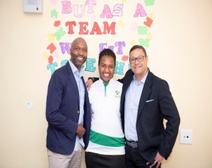 Execs Back 2 School event in South Africa