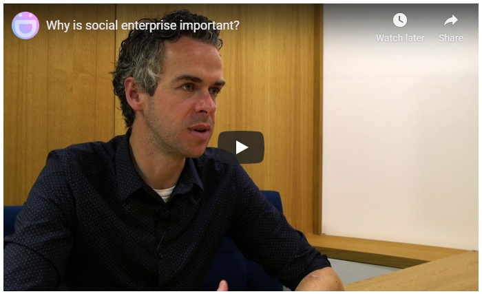 Video - what is social enterprise