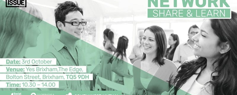 Big Issue Invest Network Share and Learn event 3rd October