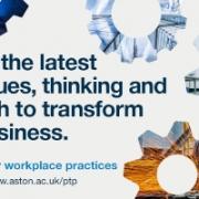 Aston Productivity through People 2020 programme