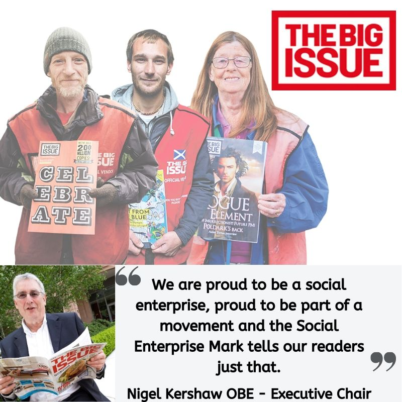 Testimonial from Nigel Kershaw at the Big Issue Group