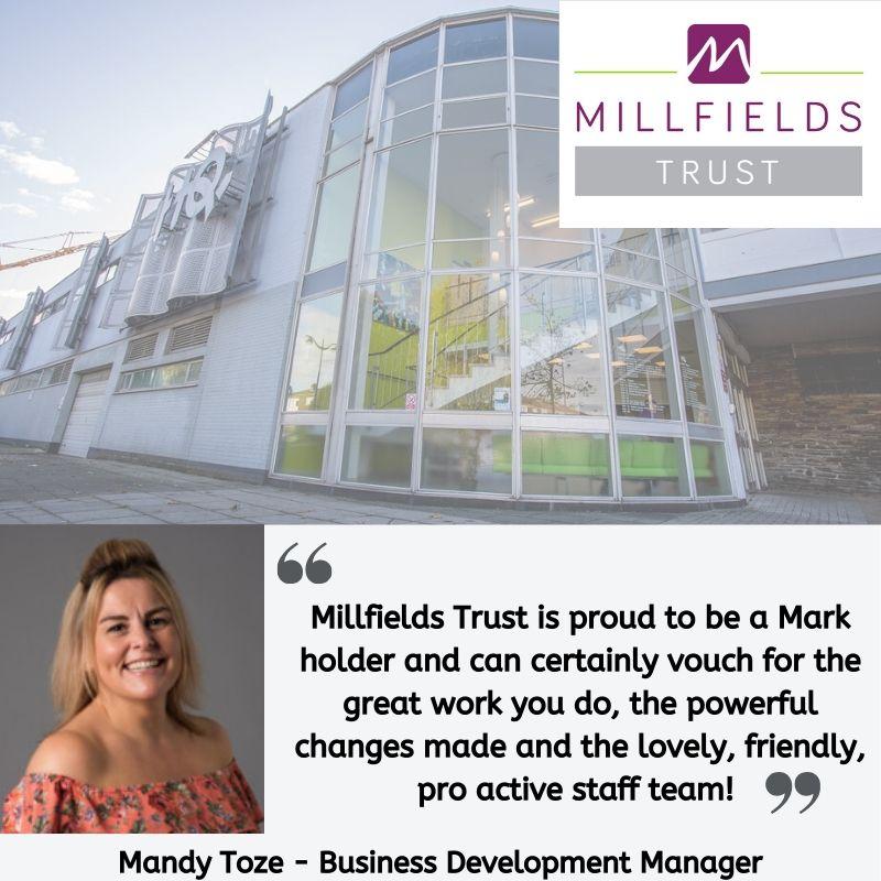 Testimonial from Mandy Toze of Millfields Trust