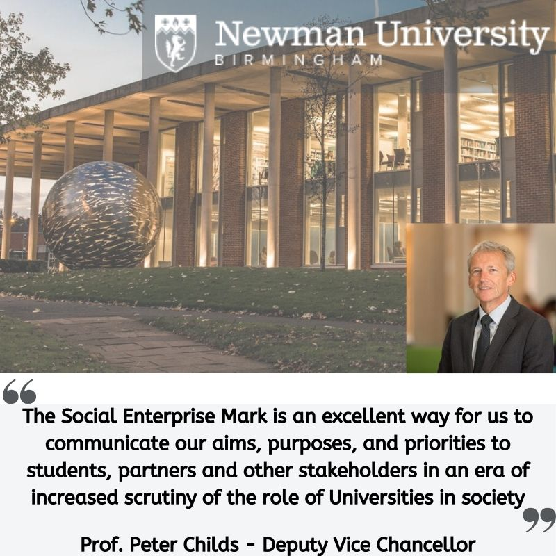 Testimonial from Professor Peter Childs at Newman University