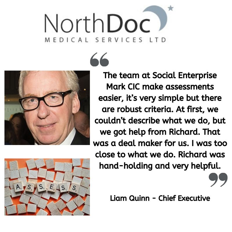 Testimonial from Liam Quinn at Northdoc
