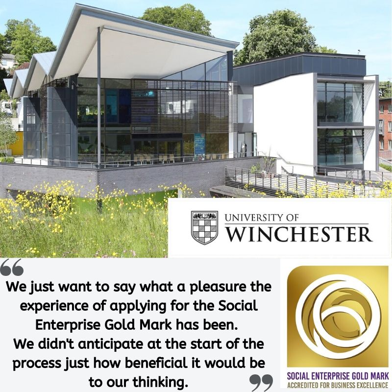 Testimonial from the University of Winchester