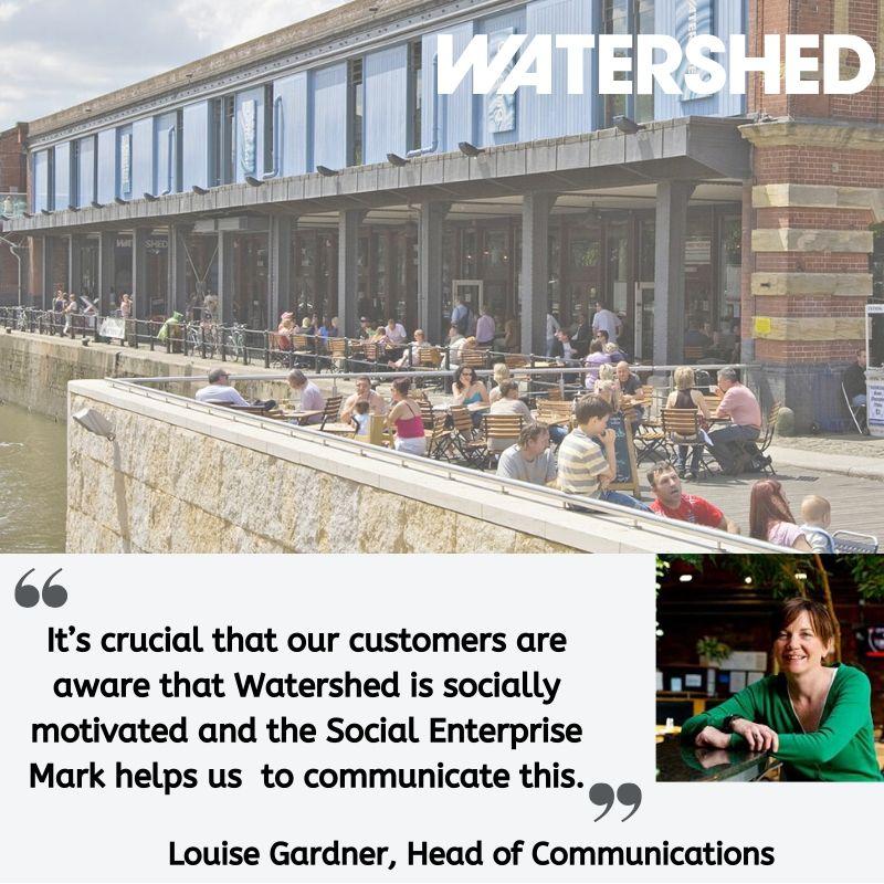 Testimonial from Louise Gardner at Watershed