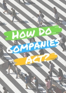 How do companies act?