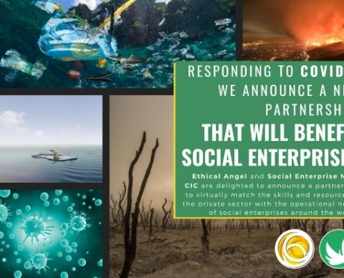 Social Enterprise Mark CIC partnership with Ethical Angel