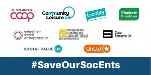 #SaveOurSocEnts campaign partners