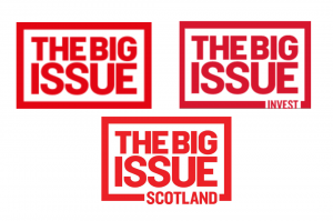 Big Issue Group logos