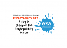 National Employability Day banner; a day to celebrate the employability sector