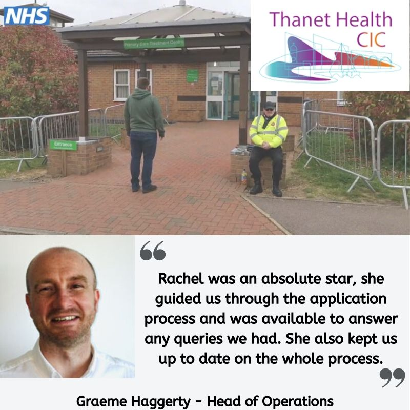 Testimonial from Graeme Haggerty at Thanet Health CIC