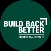 Build Back Better Hackathon logo