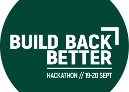 Build Back Better Hackathon logo