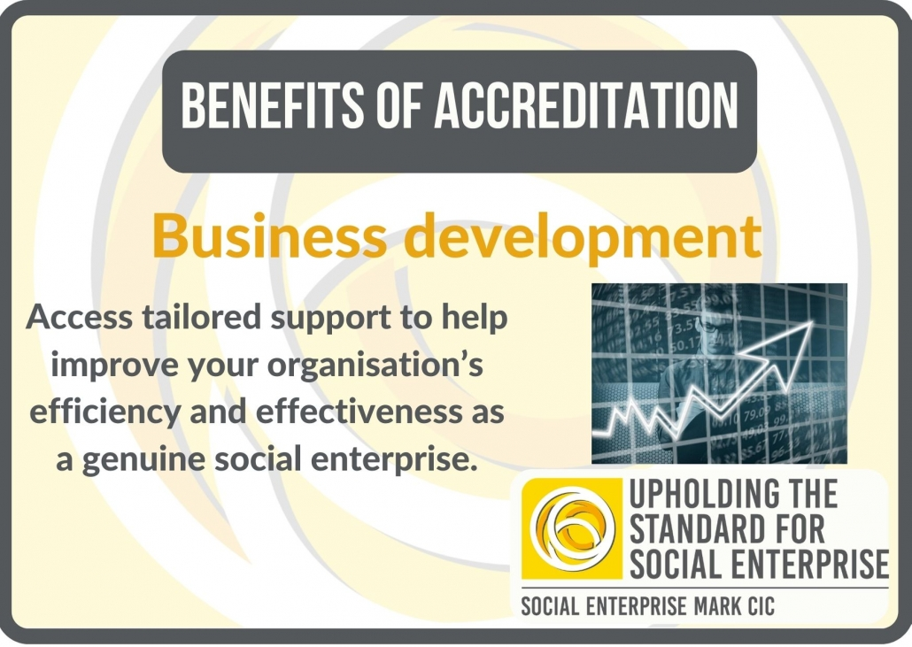 Benefits of accreditation: business development