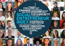 Front cover of Social Entrepreneur Index report