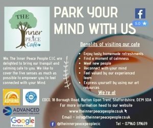 Inner Peace People cafe advert
