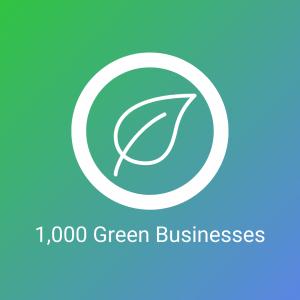 1000 Green Businesses logo