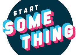 Start something badge
