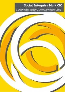 Social Enterprise Mark CIC stakeholder survey report front cover