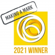 Making a Mark competition winner badge
