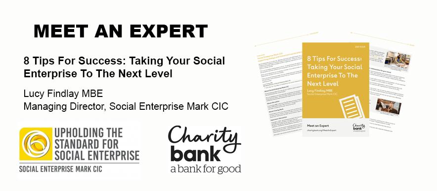 Charity Bank and Social Enterprise Mark CIC meet an expert guide banner