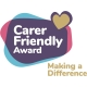 Carer Friendly Award badge - making a difference